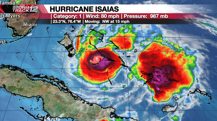 Hurricane Henri Tracker